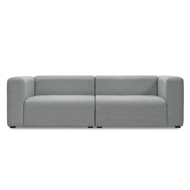 Hay – Mags sofa uden knapper, 2 1/2-personers, Surface 120 lysegrå