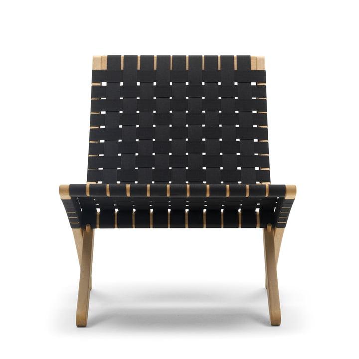 MG501 Cuba Chair fra Carl Hansen egetræ / sort