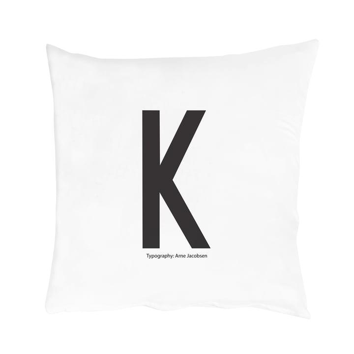 Design Letters – pudebetræk A-Z, K