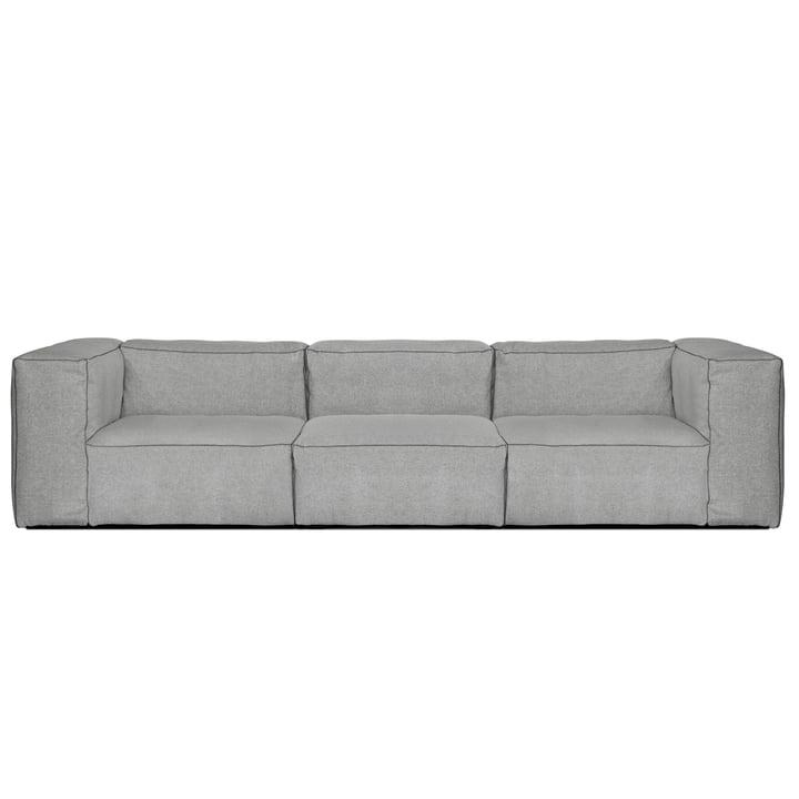 Hay – Mags Soft sofa, 3-personers, Hallingdal 130 lysegrå