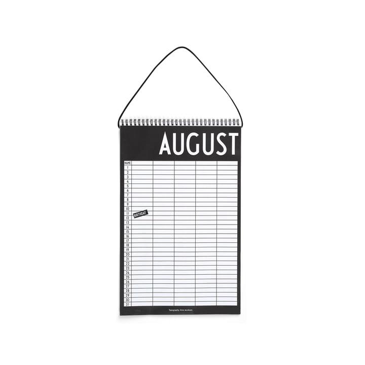 Monthly Planner fra Design Letters