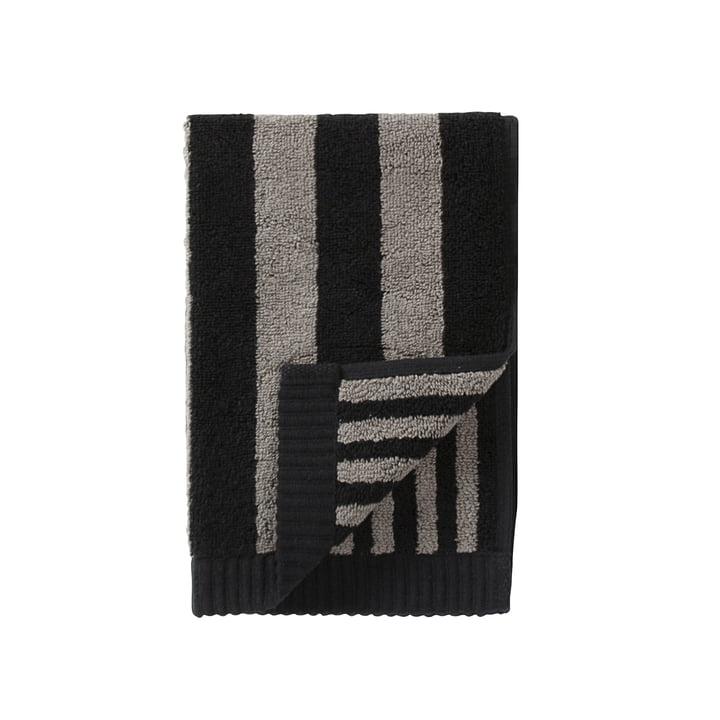 Marimekko - Kaksi Raitaa 30 x 50 cm, grå / sort