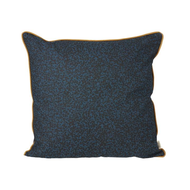 Terrazzo Cushion, 50 x 50 cm fra ferm LIVING i mørkeblå