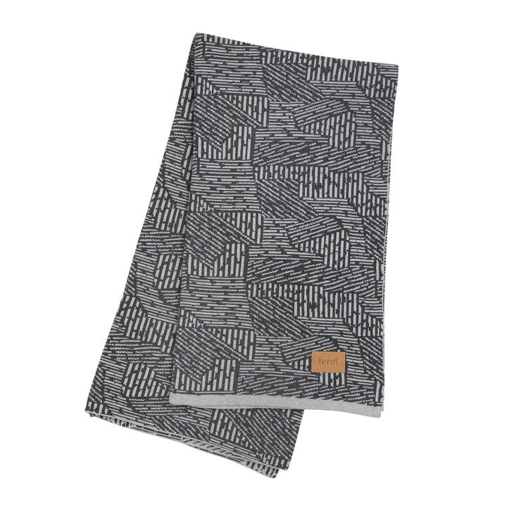 Maze tæppe fra ferm LIVING i grå