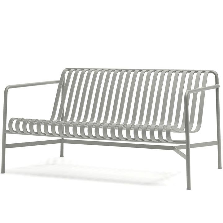 Palissade Lounge sofaen fra Hay i lysegrå