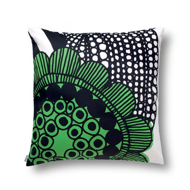 Marimekko – Siirtolapuutarha pudebetræk, 50x50, hvid/grøn