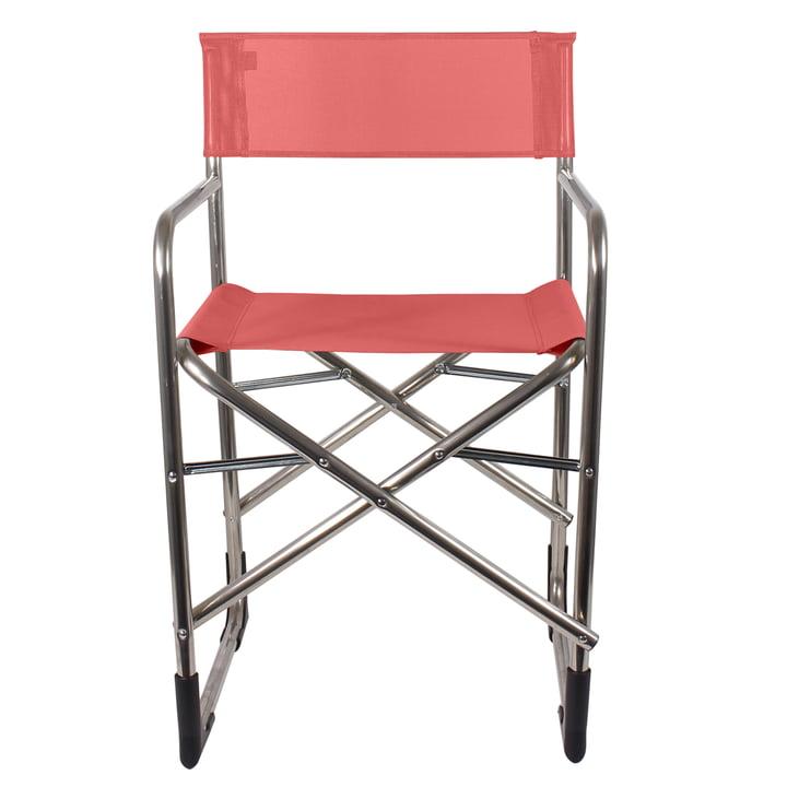 Fiam – instruktørstol i aluminium, rød