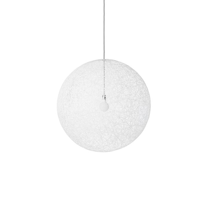 Tilfældig lys LED pendellampe, lille hvid fra Moooi