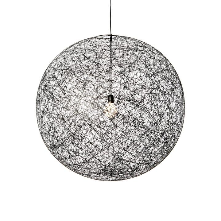 Tilfældig lys LED pendellampe, medium, sort af Moooi