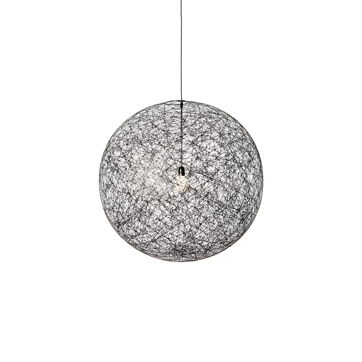 Moooi – Random Light LED-pendel, large, sort