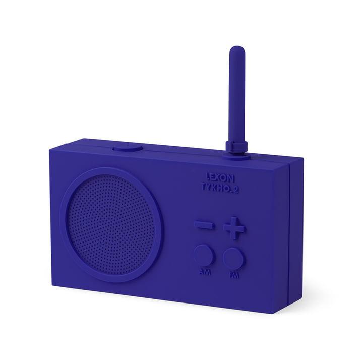 Tykho 2 Radio fra Lexon i blå