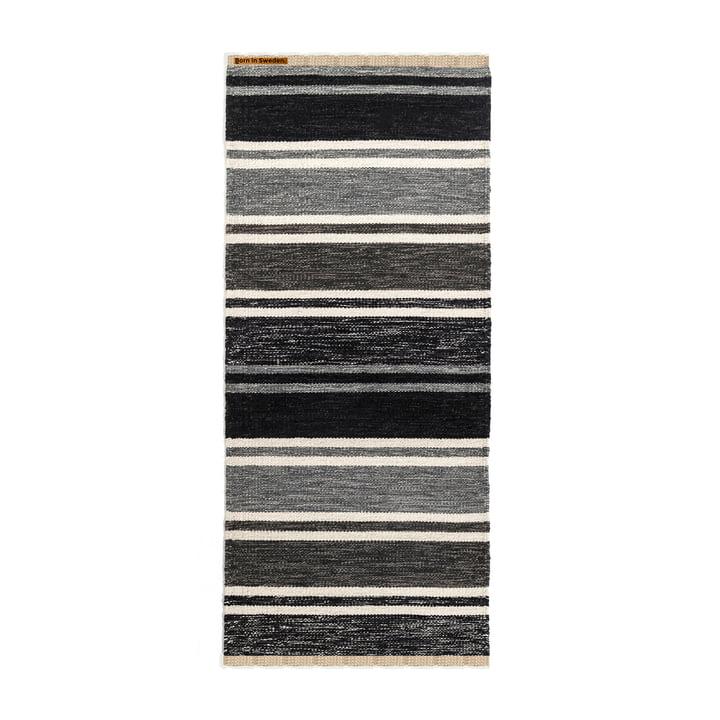 Tom tæppe, 75 x 160 cm, fra Born in Sweden i grå toner