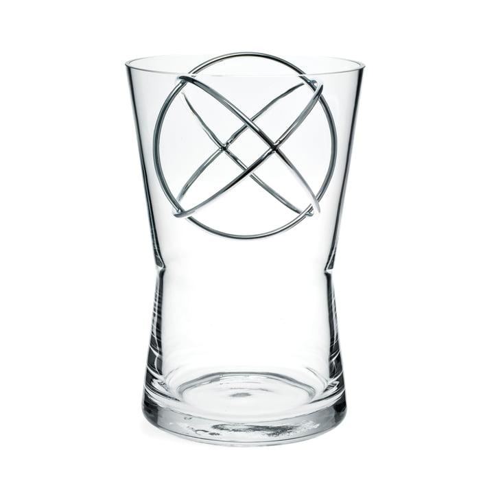 Sphere vase, mellem, fra Born in Sweden i rustfrit stål