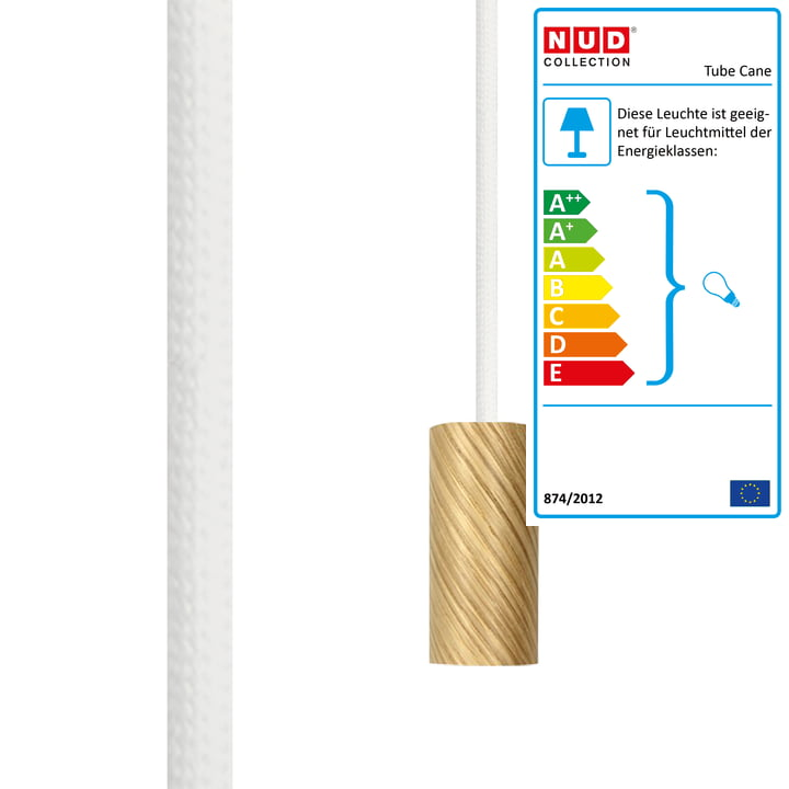 Tube Cane fra NUD Collection i farven Whipped Cream (TT-01A)