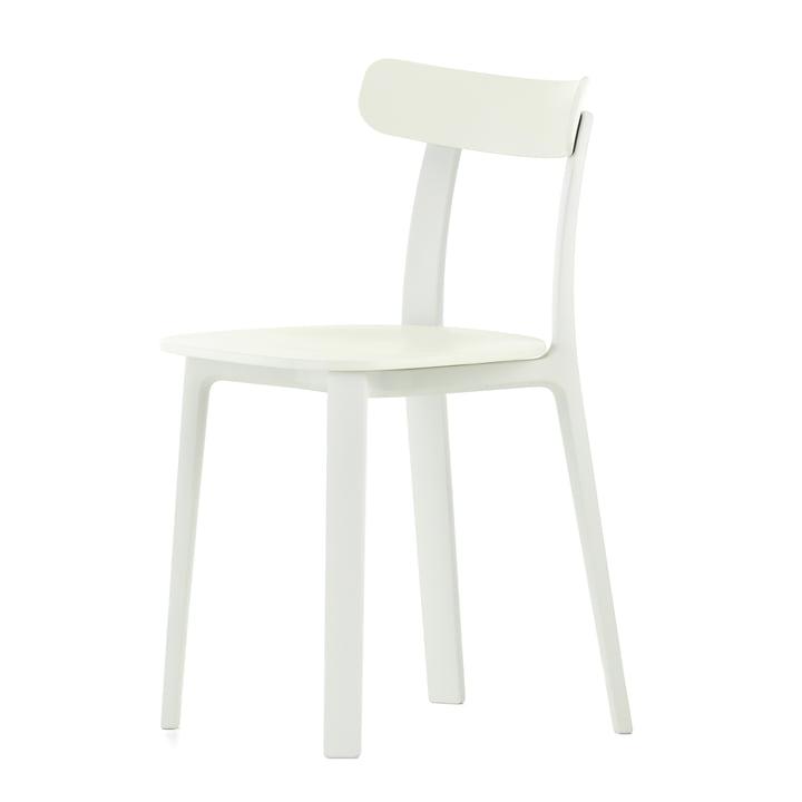 All Plastic Chair i hvid fra Vitra
