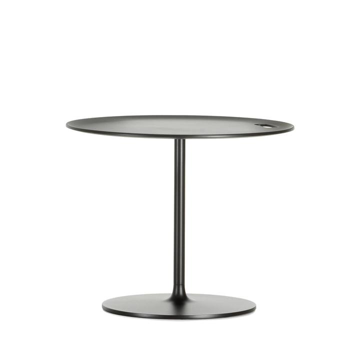 Occasional Low Table 35 fra Vitra er i aluminium og chokoladefarvet metal