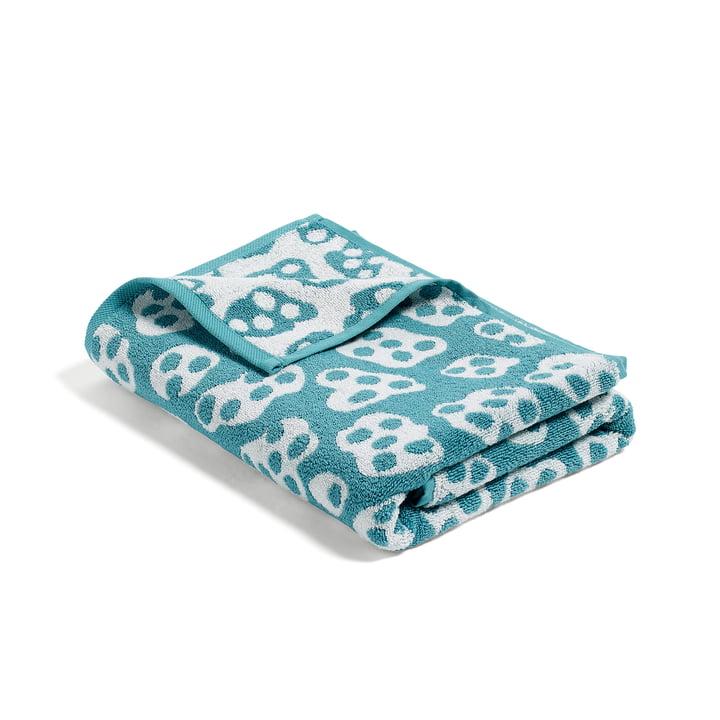Hay – He She It, She badehåndklæde, turkis/beige