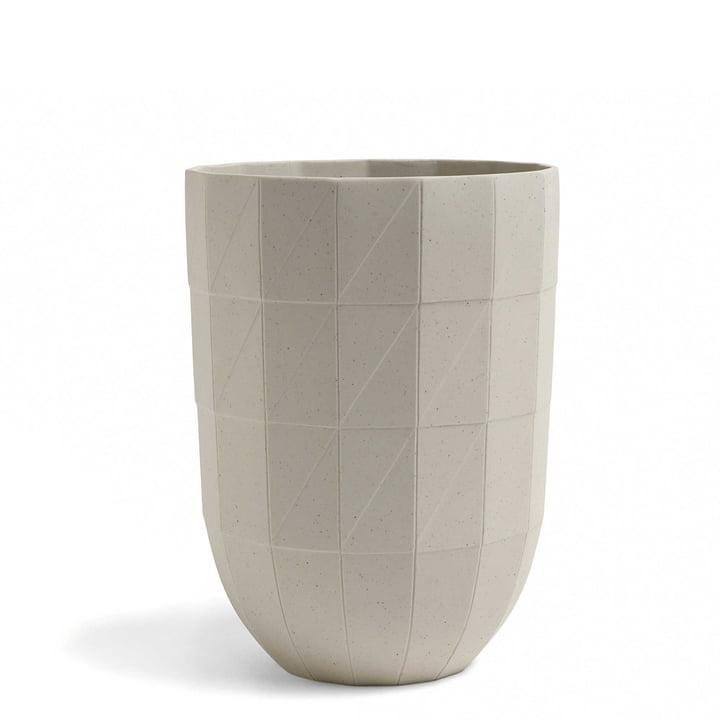 Hay – Paper Porcelain vase i L