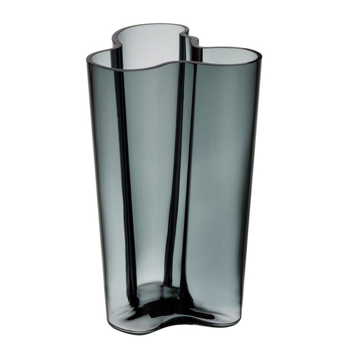 Aalto Vase Finlandia 251 mm fra Iittala i mørkegrå