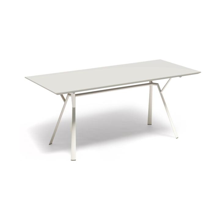 Fast – Radice Quadra spisebord 150 x 90 cm, hvidt