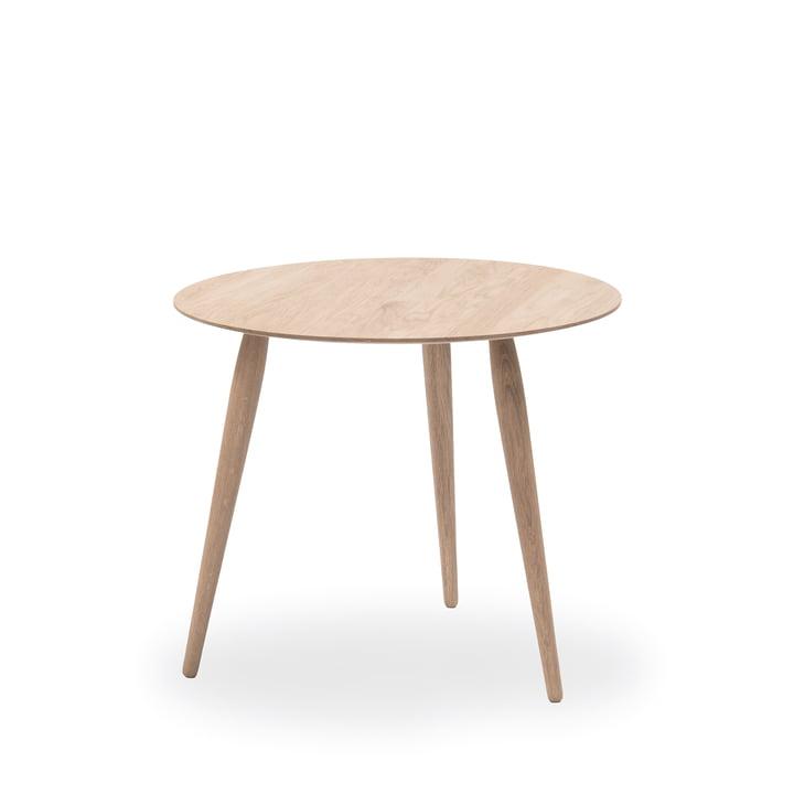 PLAYround sidebord i træ Ø 45 cm fra bruunmunch i sæbebehandlet eg