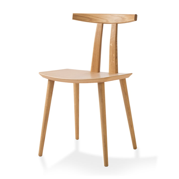 J111 stol fra bruunmunch i oliebehandlet eg