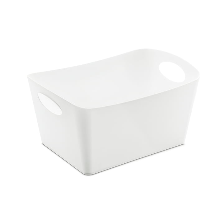 Boxxx M opbevaringskasse fra Koziol i hvid