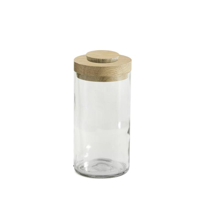 Vase & Jar fra side by side i hvid/klar