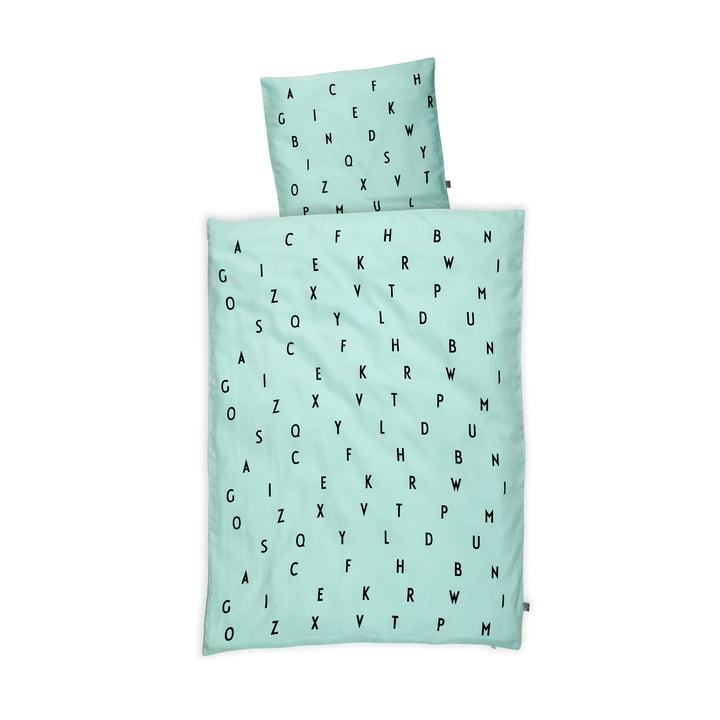 Design Letters – AJ Baby sengetøj, mintgrøn