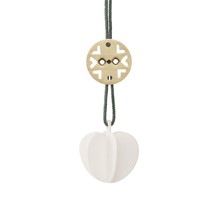 Nordic ornament, hjerte, fra Stelton i keramik