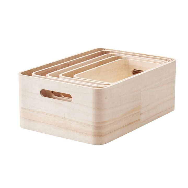 Save-it opbevaringskasser fra Rig-Tig by Stelton, 5 stk.