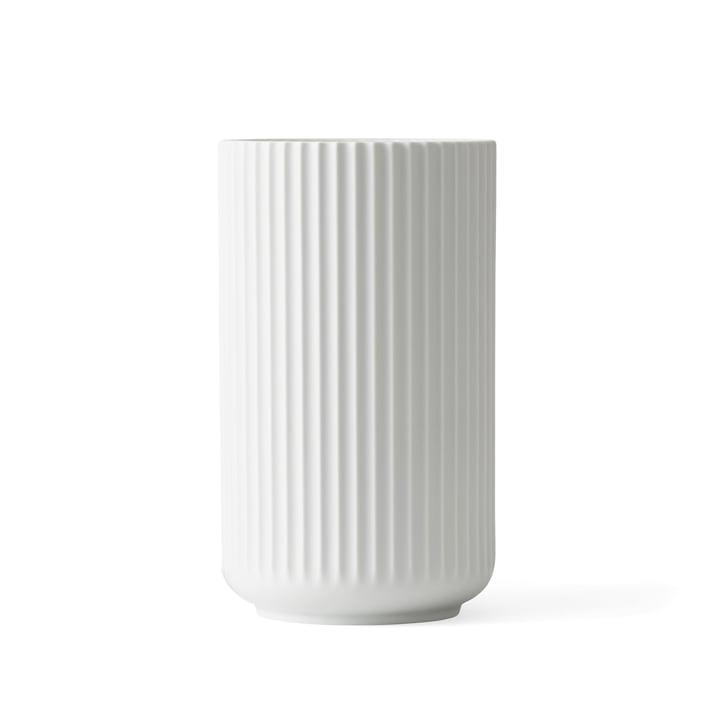 Lyngby vase H 15,5 cm af Lyngby Porcelæn hvid