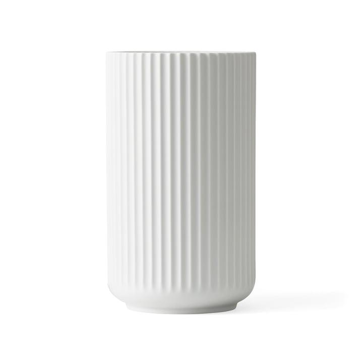 Lyngby vase H 20,5 cm af Lyngby Porcelæn hvid