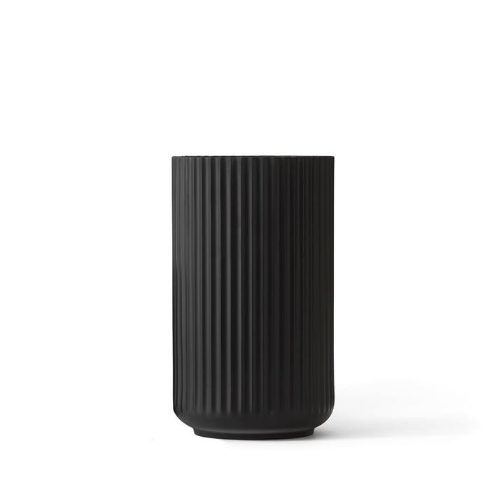 Lyngby Porcelæn – Lyngbyvasen, sort, H 12 cm