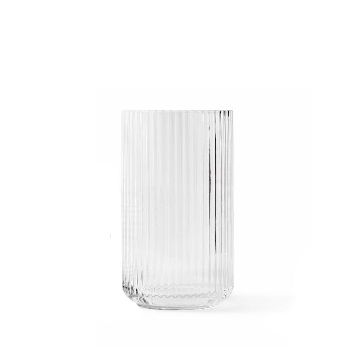 Glasvase H 12,5 cm af Lyngby Porcelæn i gennemsigtig
