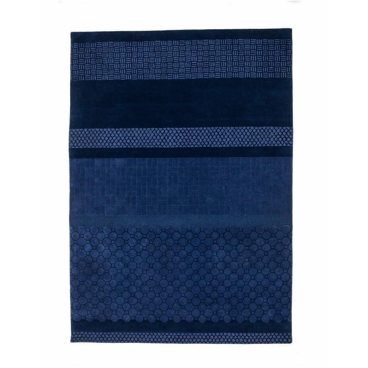 nanimarquina – Jie tæppe 200 x 300 cm, blå