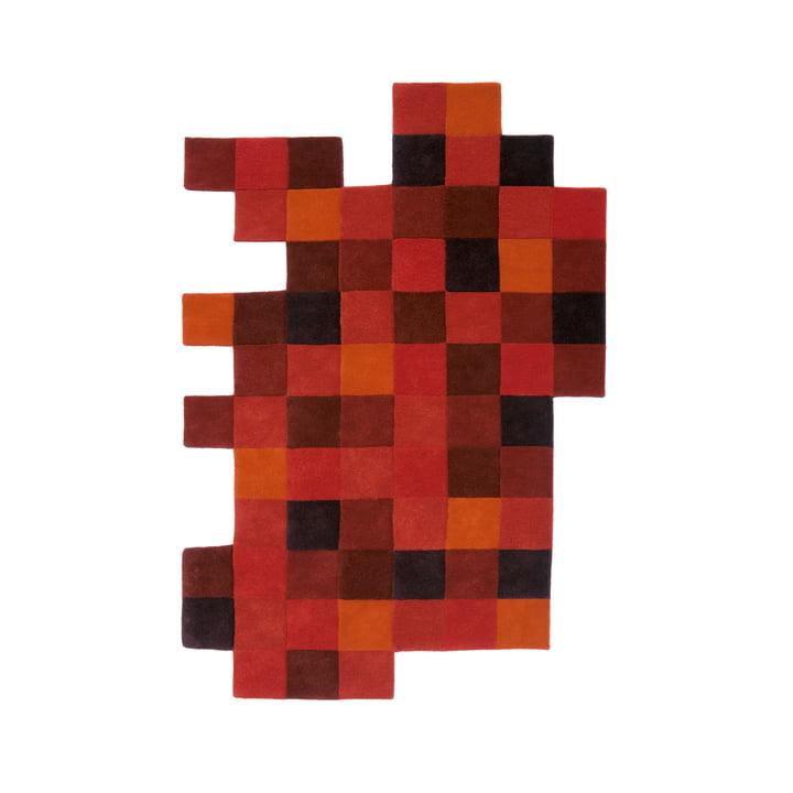 Do-Lo-Rez 1 184 x 276 cm fra nanimarquina i rød