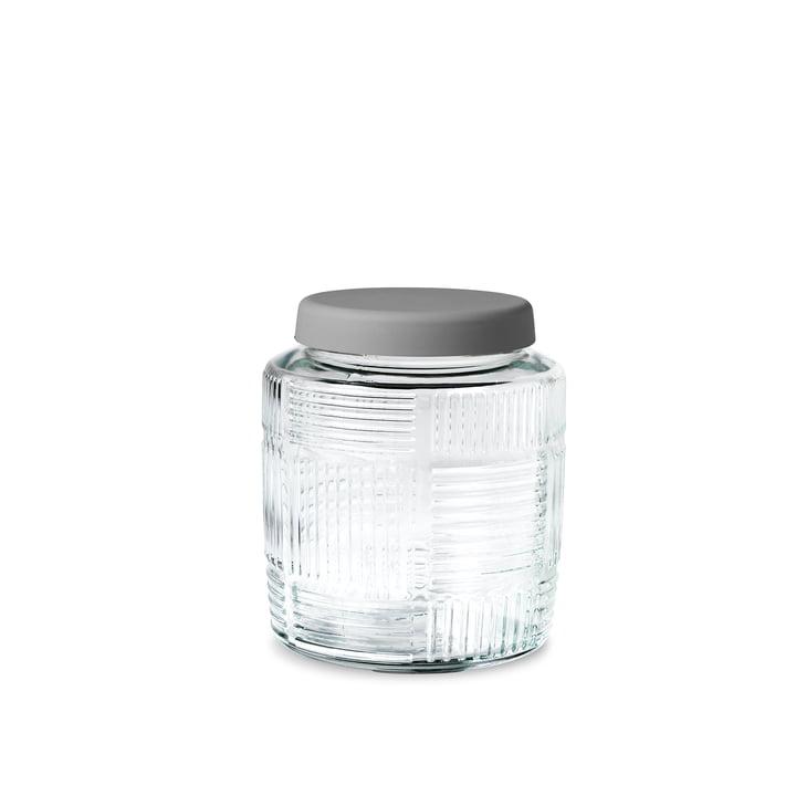 Rosendahl – Nanna Ditzel opbevaringsglas, 0,9 l, med gråt låg