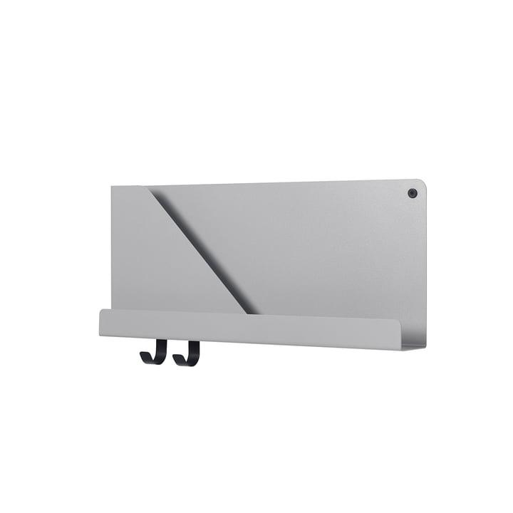 Lille foldede Shelve 51 x 22 cm af Muuto i grå