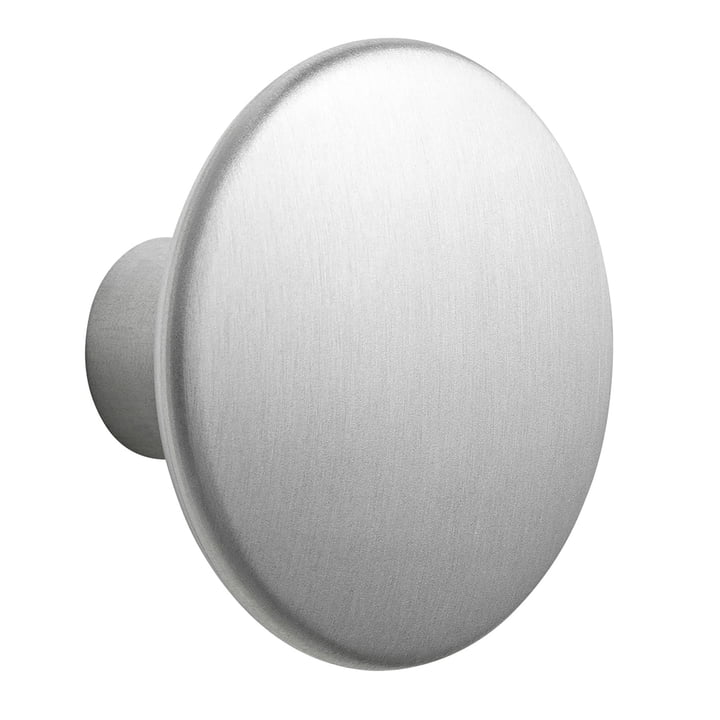 "Wall Hook ""The Dots Metal"" Single Large fra Muuto lavet af aluminium"