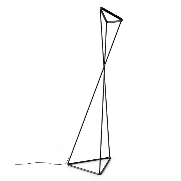 Tango gulvlampe fra Luceplan i sort