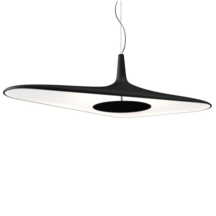 Soleil Noir pendel fra Luceplan i sort / hvid