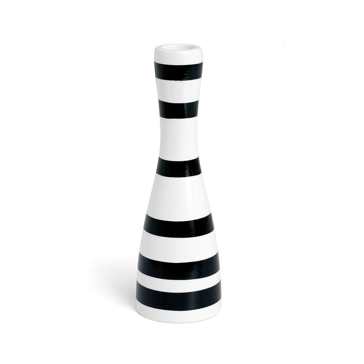 Omaggio lysestage 20 cm fra Kähler Design i sort