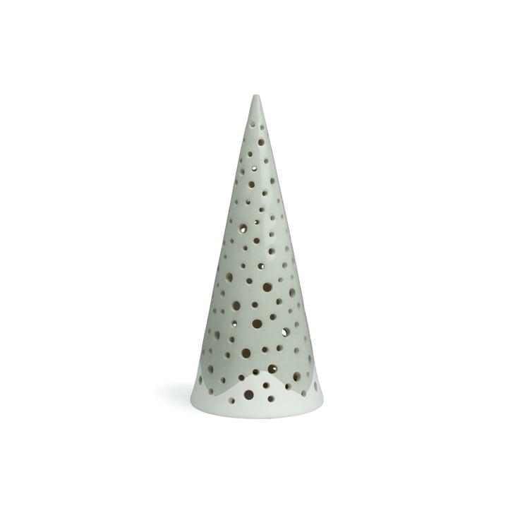 Nobili telys lysestak 18 cm fra Kähler Design i stålgrå