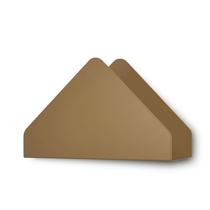 Kuvert hylde fra Skagerak i kanelbrun