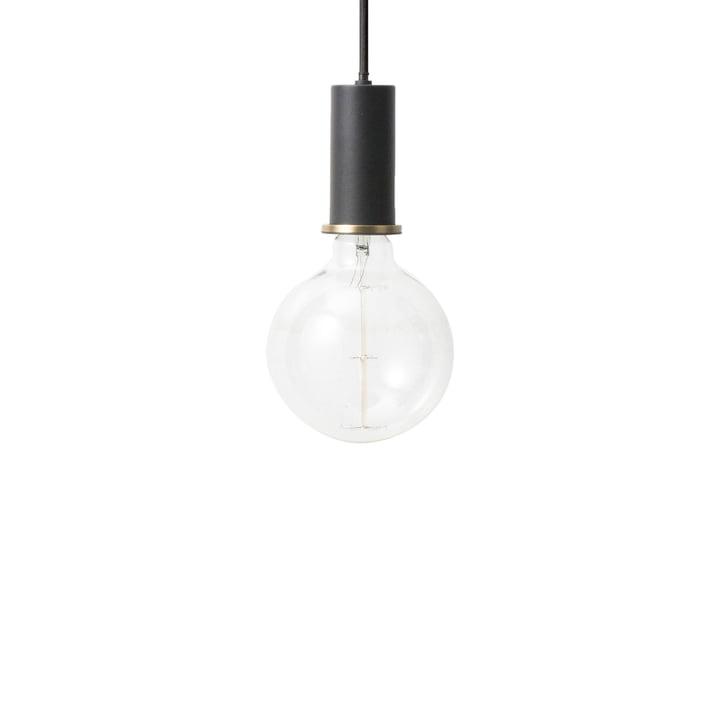 ferm Living - Socket vedhæng lys Lav, sort