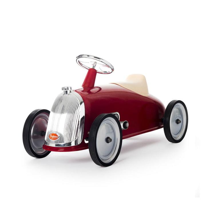 Rider gåbil fra Baghera i rød