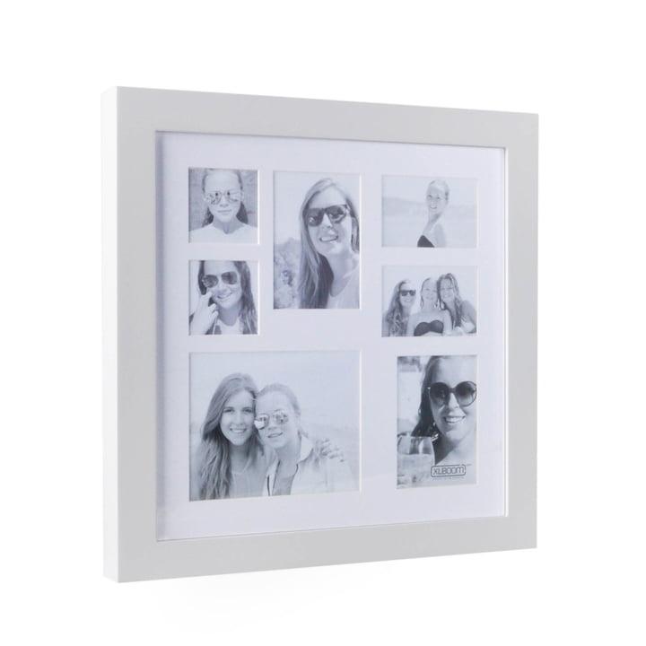 Multi Photo frame til 7 billeder fra XLBoom i hvidt