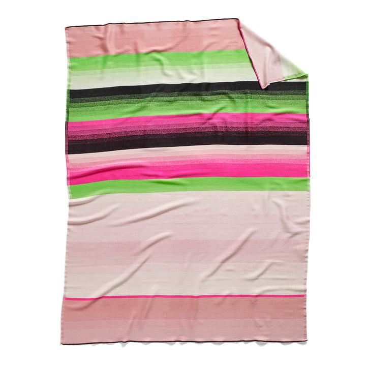 Colour Plaid uldtæppe, farve: Nr. 4 fra Hay