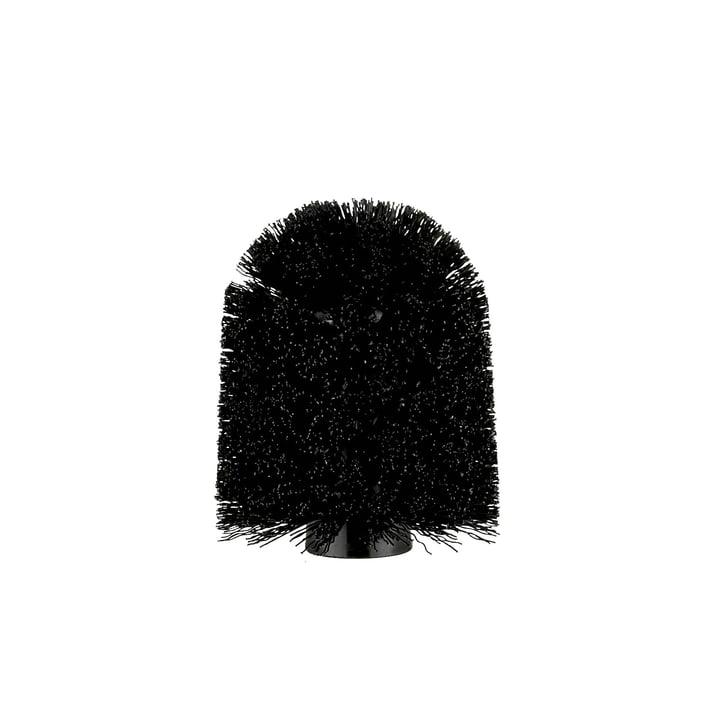 Løst børstehoved fra Södahl i sort